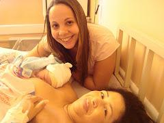 Nasceu o Nicolas através de uma cesárea!