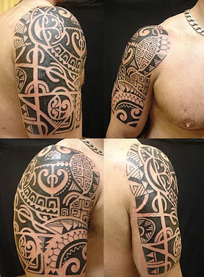 Tatuagens Manga Maori