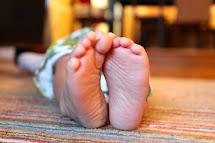 Crafty Nester Little Boy Feet