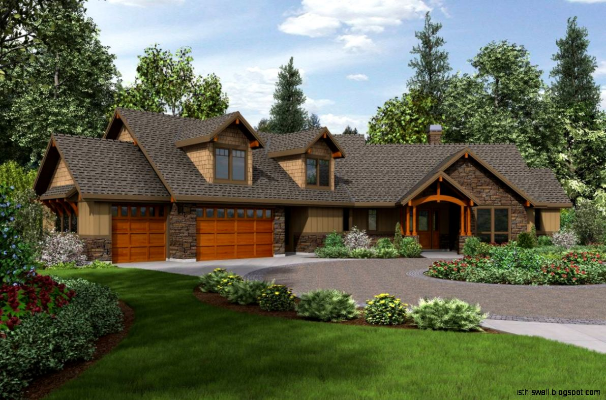 Ranch style home design this wallpapers for Ranch style home builders