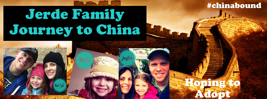 Jerde Family.......Journey to China