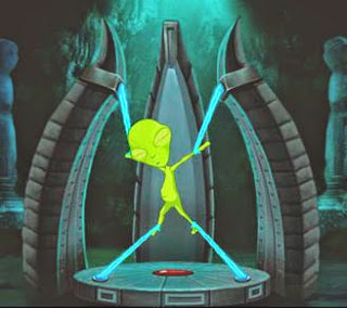 Juegos de escape Alien Ship Escape