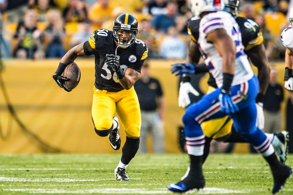 Ryan Shazier Steelers The drive gets moving with a