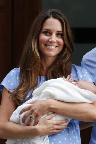 Royal Baby first Photos