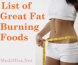 List of Great Fat Burning Foods