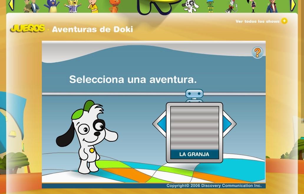 http://www.tudiscoverykids.com/juegos/aventuras-de-doki/