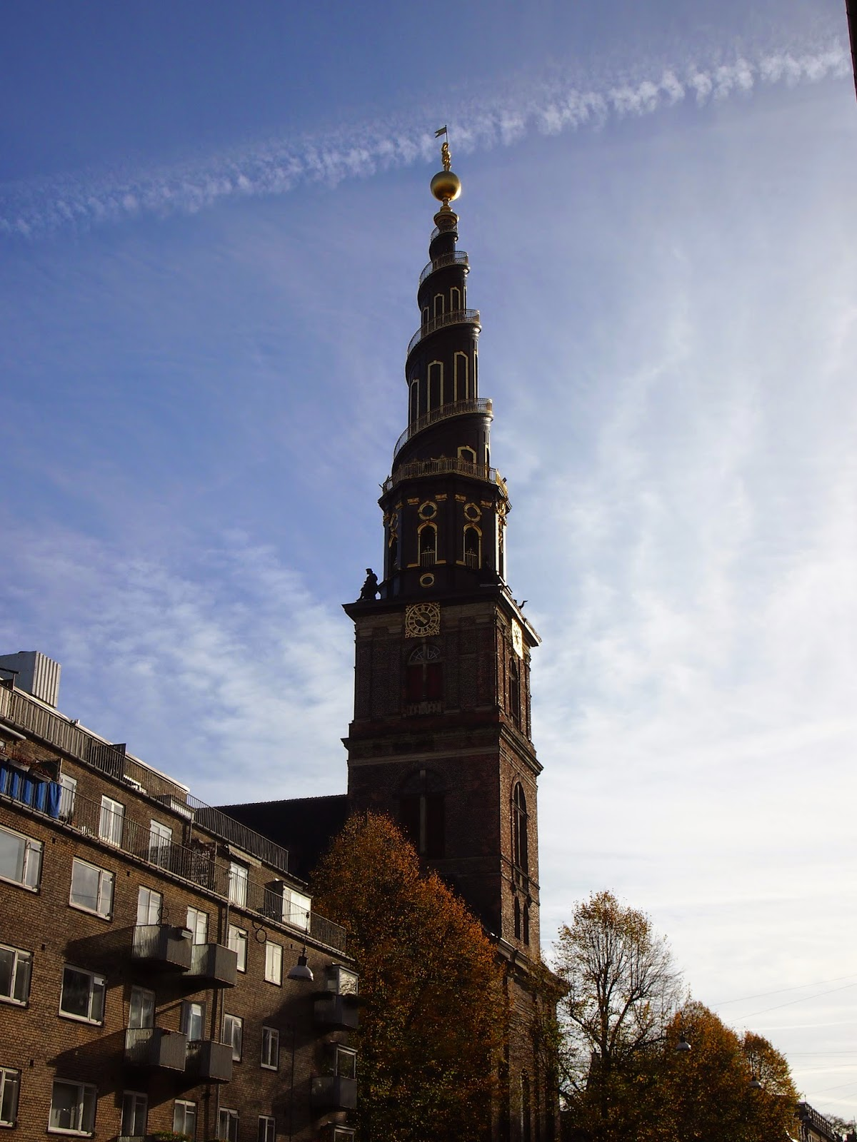our saviors church in copenhagen