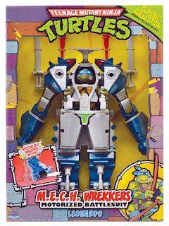 Playmates Teenage Mutant Ninja Turltles TMNT Classic Collection MECH Wreckers Leonardo Figure
