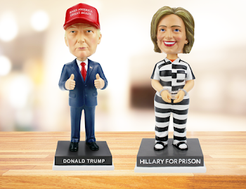 Trump Campaign Sells Bobbleheads