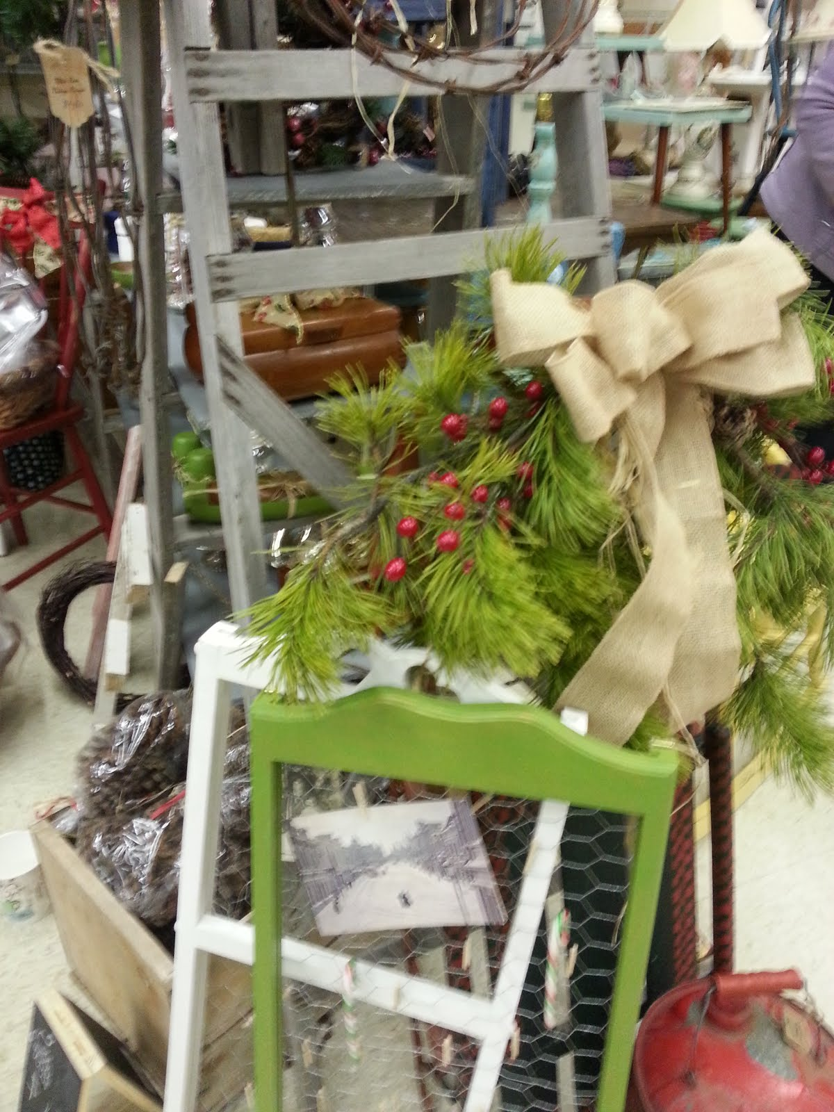 Vintage With Flair - Christmas in the Country
