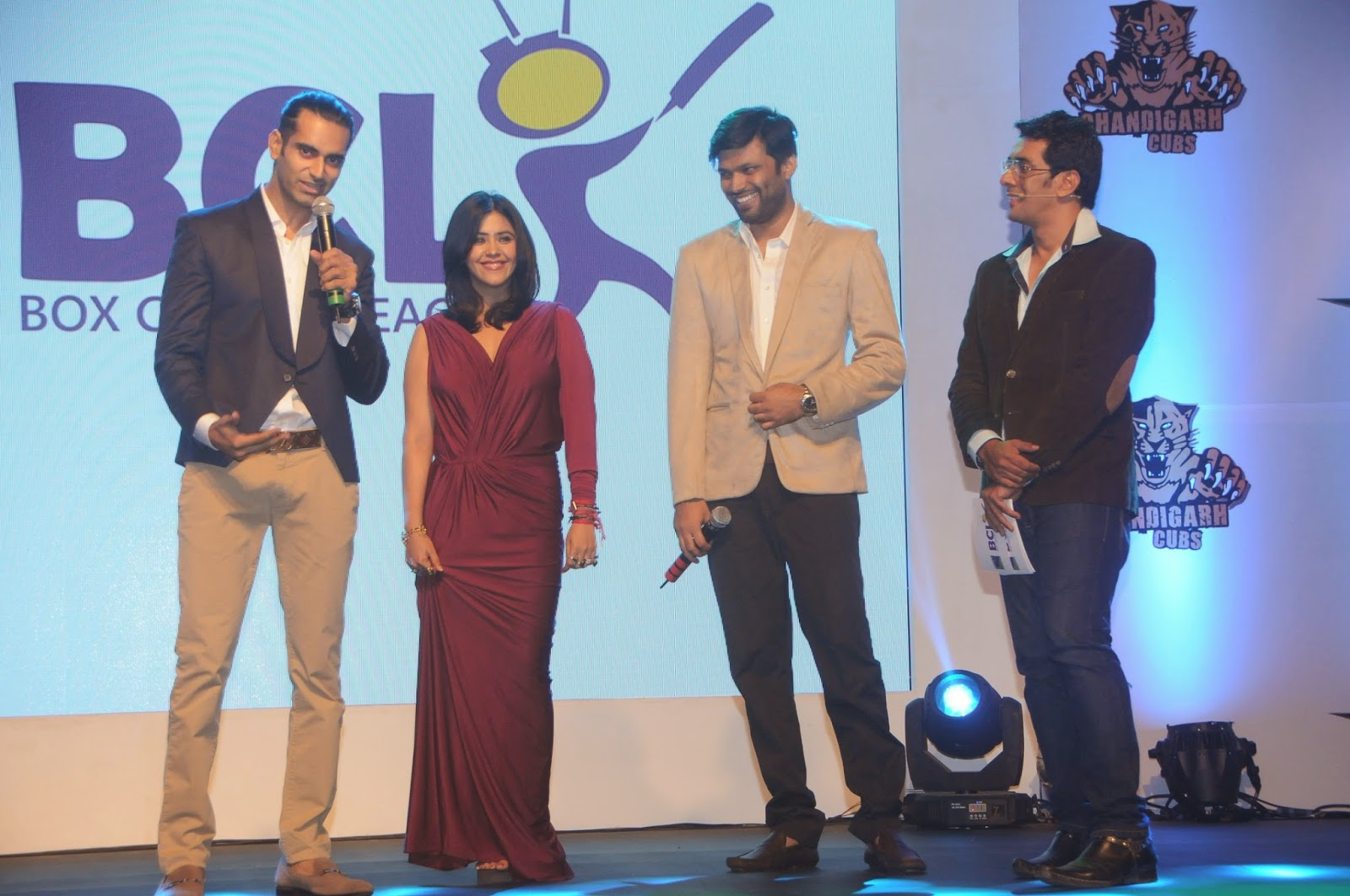 Ekta Kapoor Launch Box Cricket League Event Pics