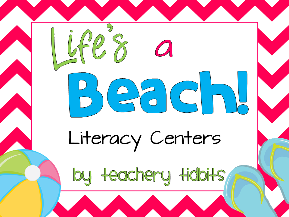 http://www.teacherspayteachers.com/Product/Lifes-a-Beach-Literacy-Centers-690962