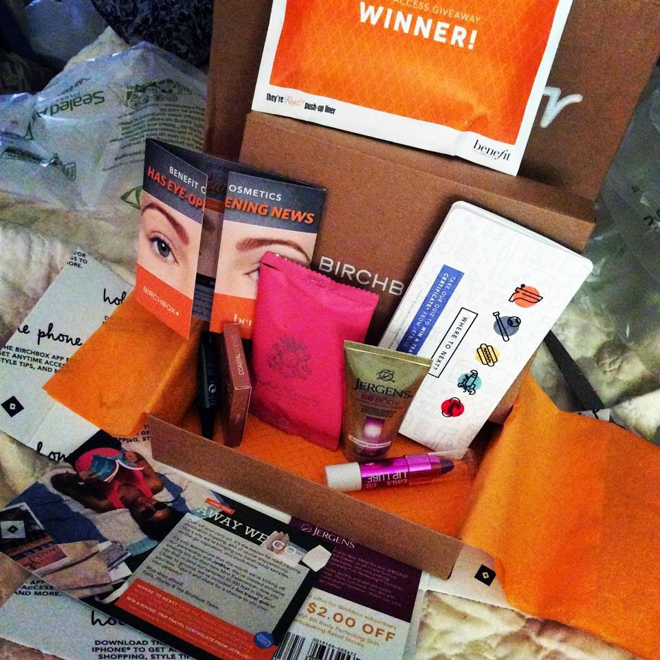 Birchbox: Winner Benefit