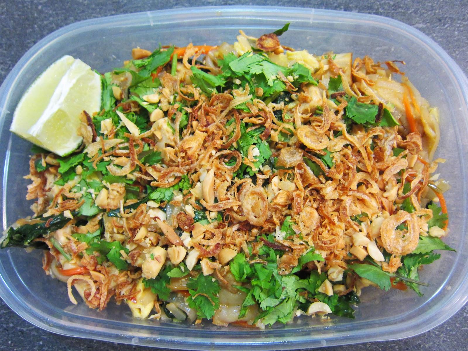 Tasty Eating: Lunch Week 24: Shrimp Pad Thai