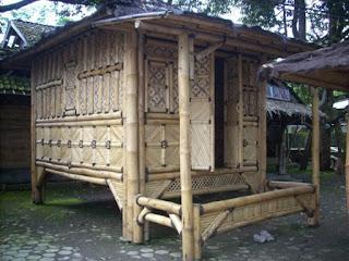 gazebo bamboo