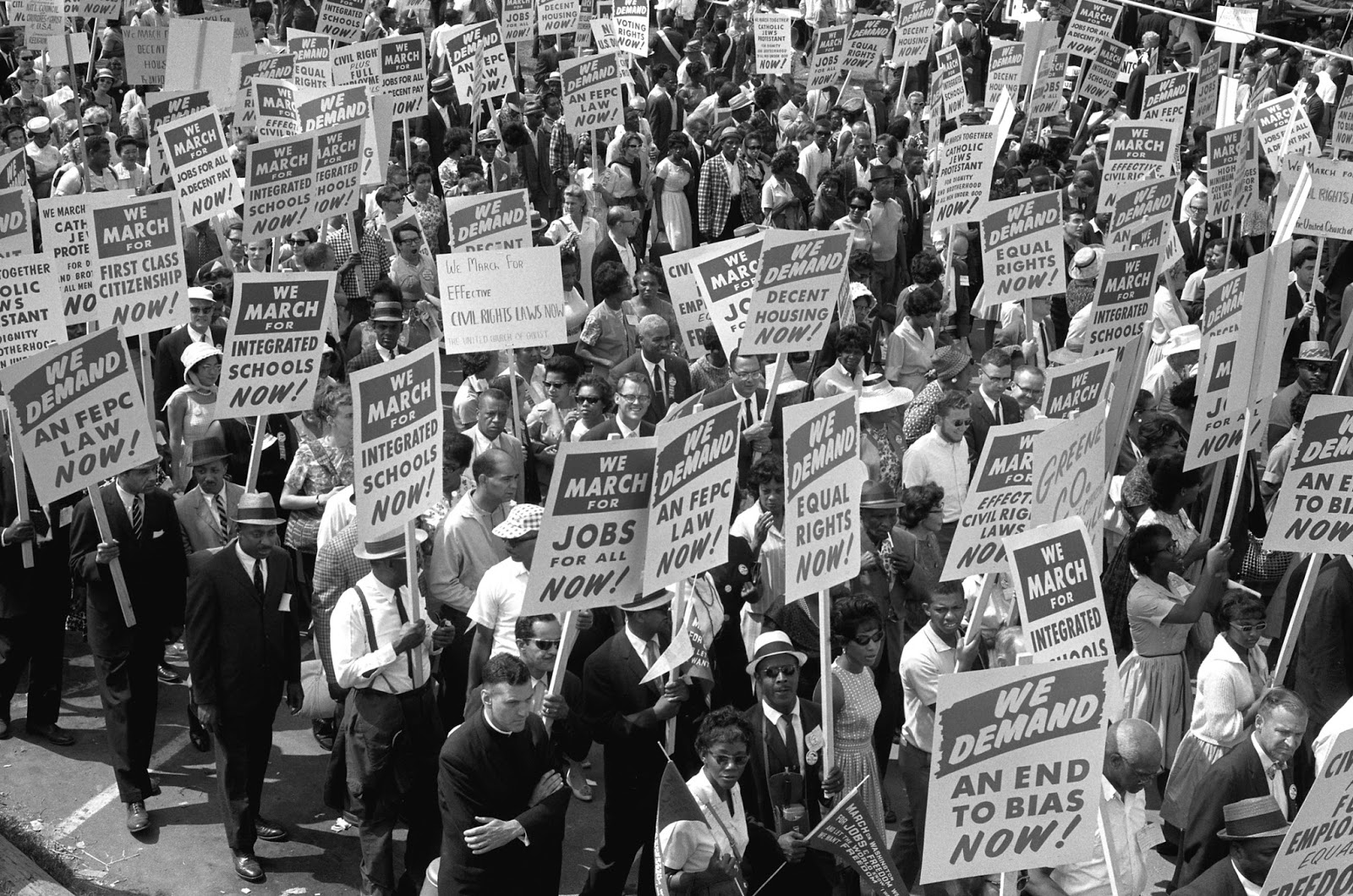The march on washington 1963 public domain clip art photos and images