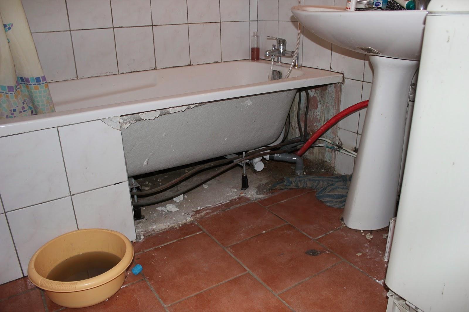 Notre maison for Placo pour salle de bain