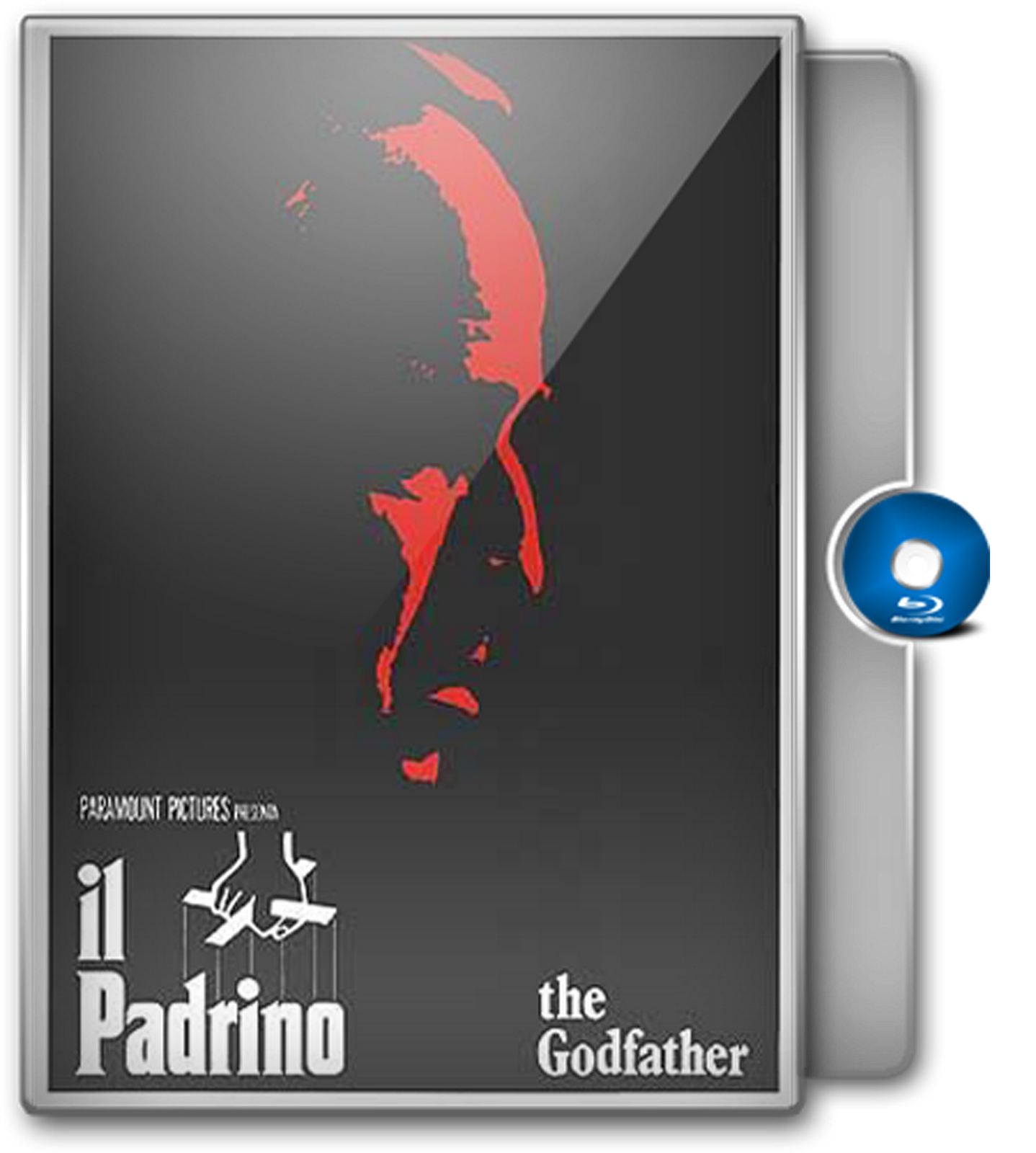 Il Padrino The Godfather Blu-ray Case