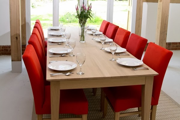 Model home dining rooms