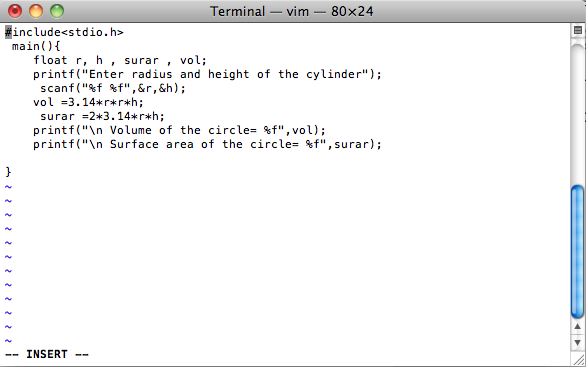 Simple Program Unix Linux Mac Osx Lets Start C