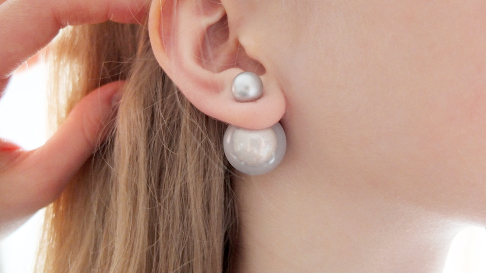 Made Two Variations With Pearls That Remind Me Of Magic