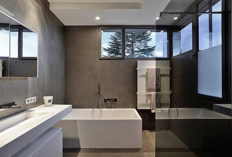 Baños Residenciales Modernos:bano-moderno