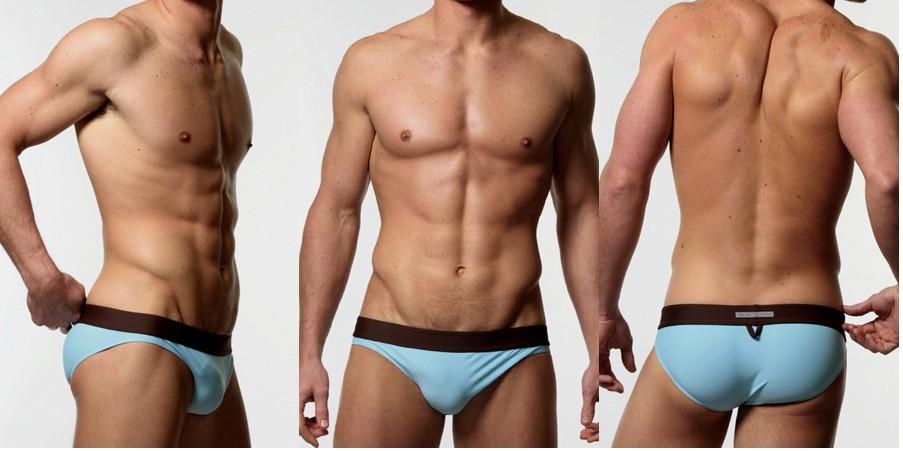 Erotic male swimwear hide