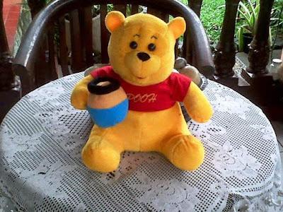 Boneka Winnie the Pooh Imut