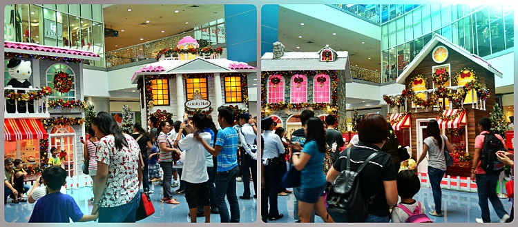 Merry Meow Christmas, Hello Kitty at SM City North Edsa