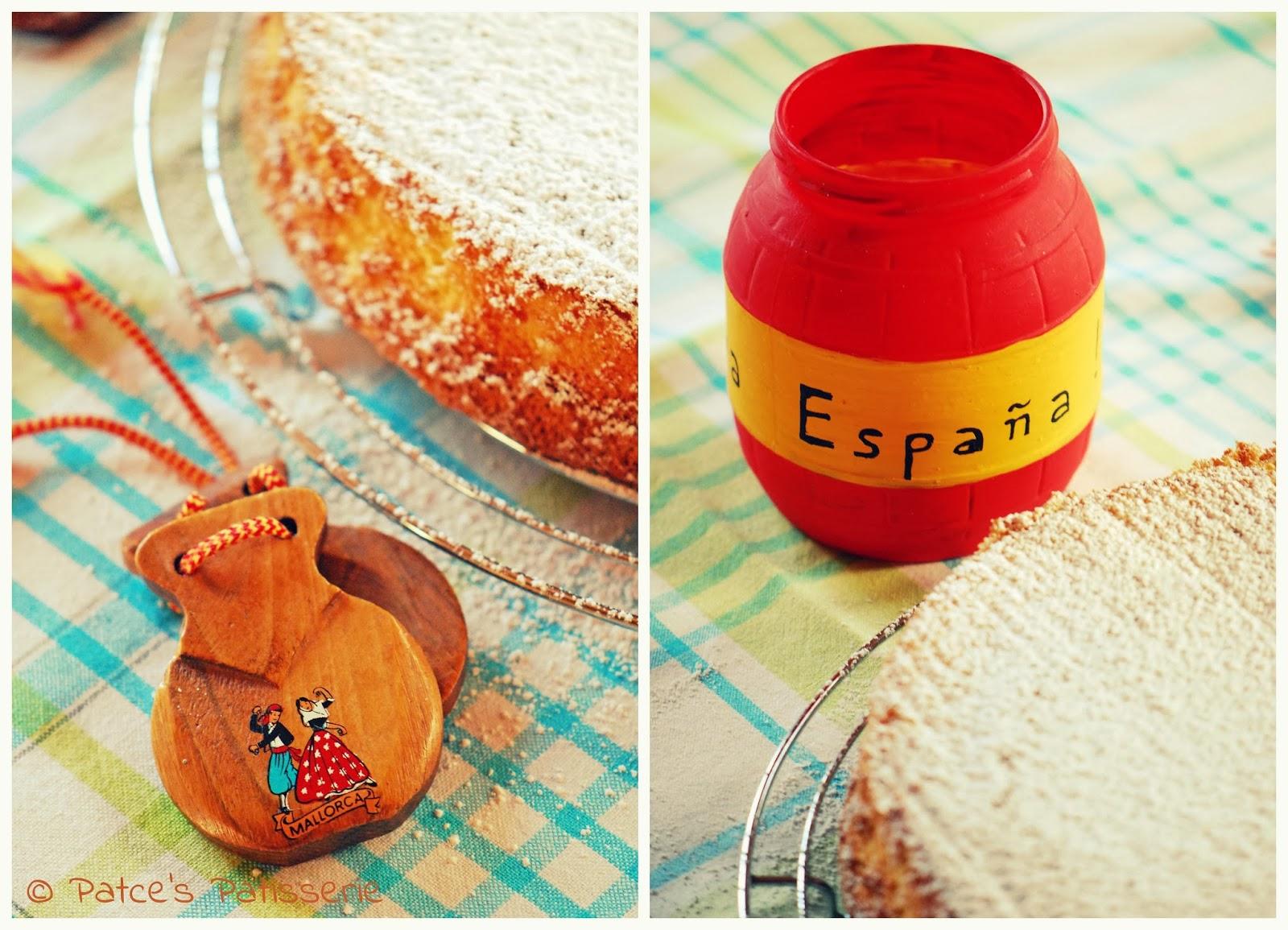 Patces patisserie tarta de santiago spanischer - Spanische deko ...
