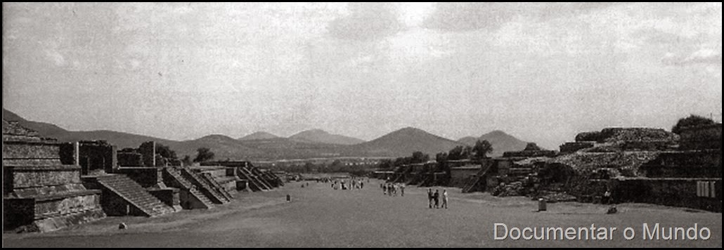 Via dos Mortos; Teotihuacan
