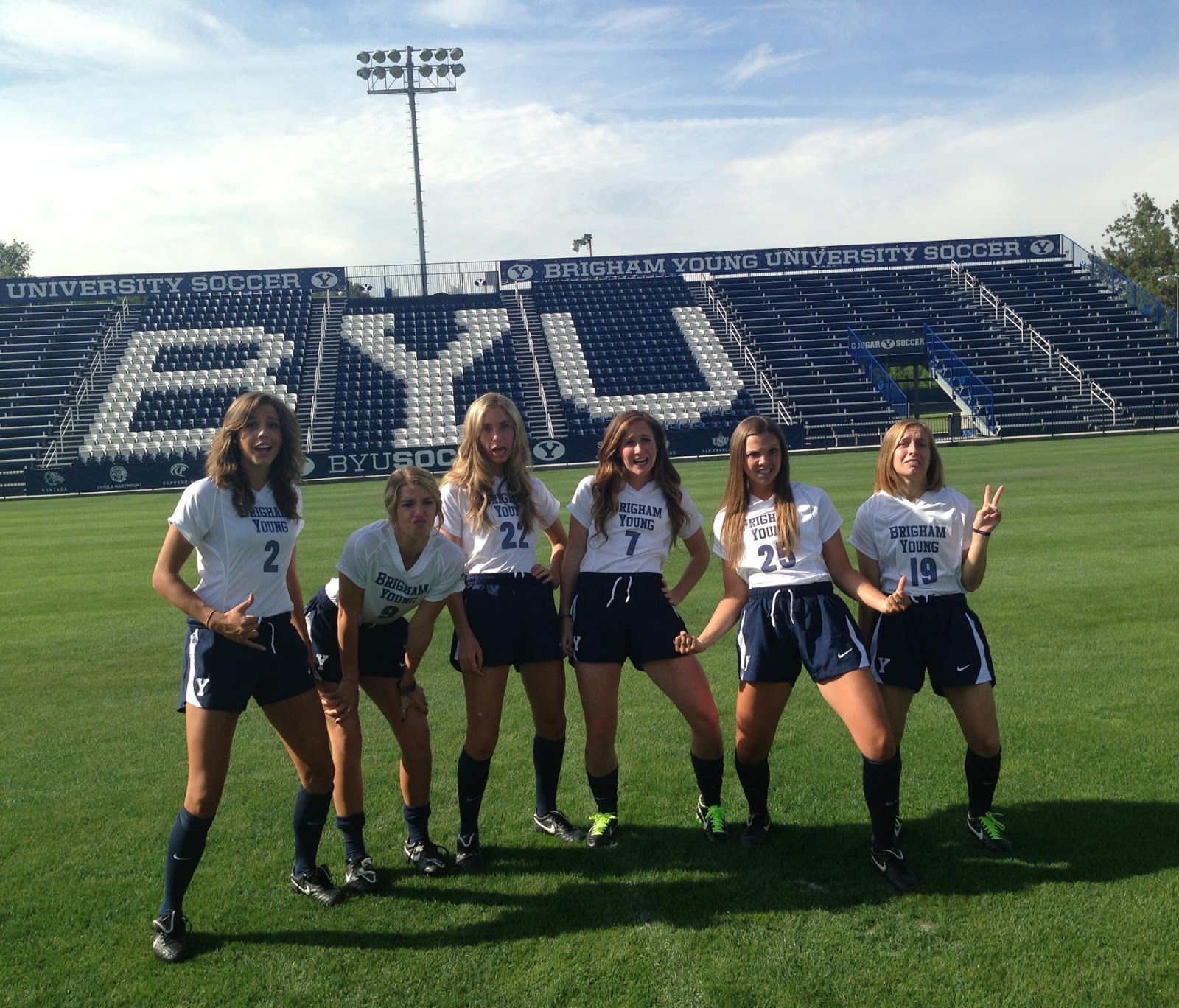 BYU WOMENS SOCCER August 2013
