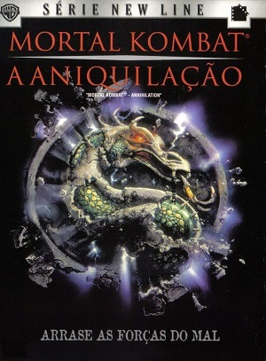 Mortal Kombat 2 - A Aniquilação Filmes Torrent Download capa