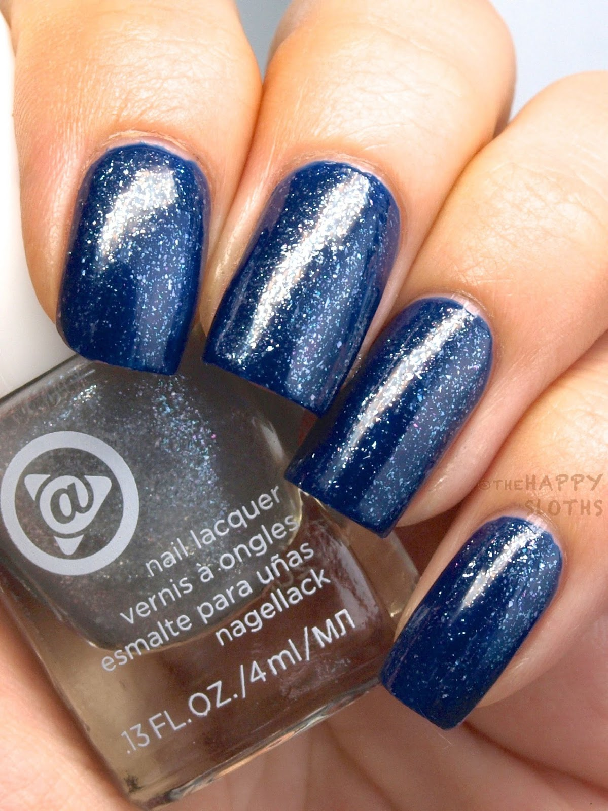Mary Kay At Play Hail to the Nails Mini Nail Lacquer Trio: Review and Swatches Silver Sparkle