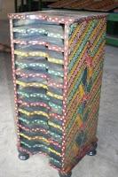 tempat tisue batik kayu
