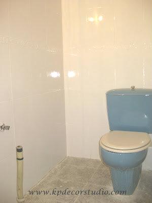 Kp decor studio reformar el ba o con pintura de azulejos - Pintura para azulejos bano ...