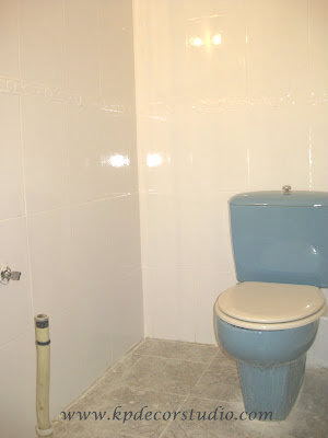 Kp decor studio reformar el ba o con pintura de azulejos - Pinturas para pintar azulejos ...