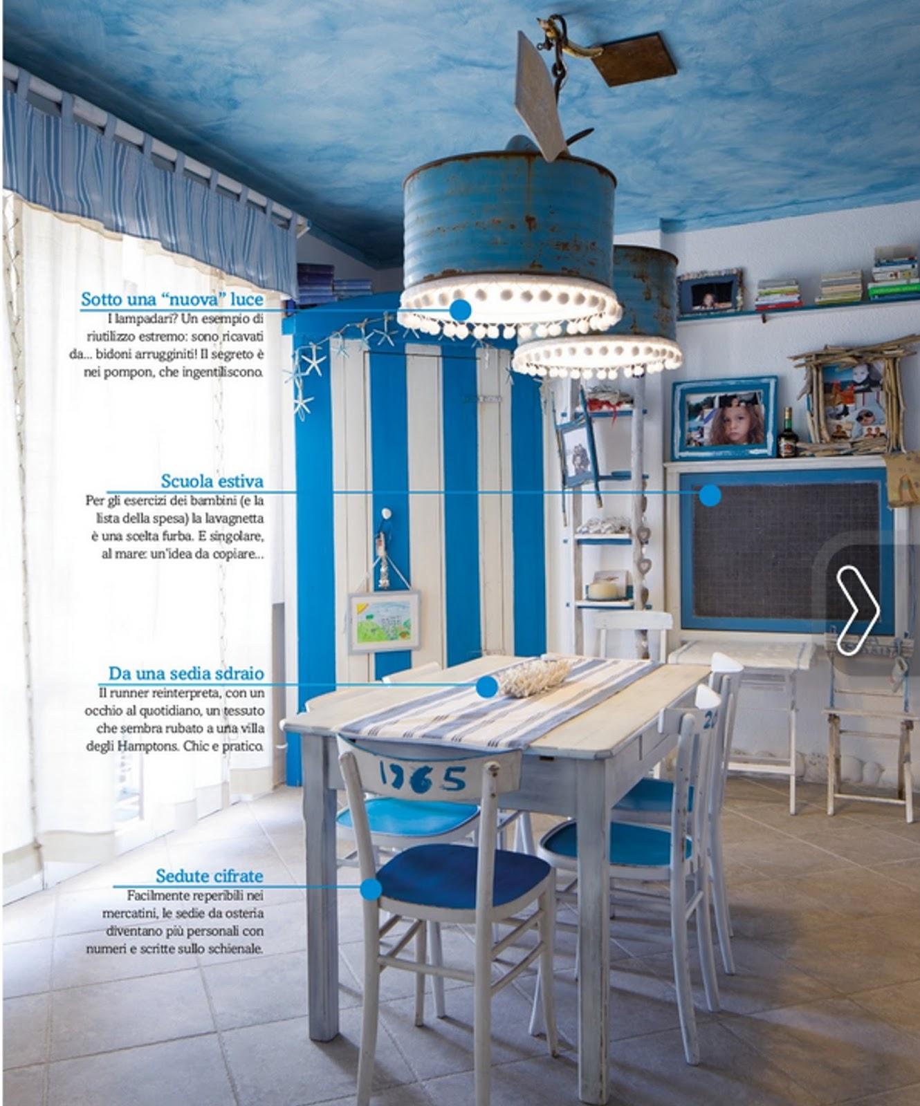 Arredamento casa al mare fai da te latest zerbino marino for Arredamento marino per casa