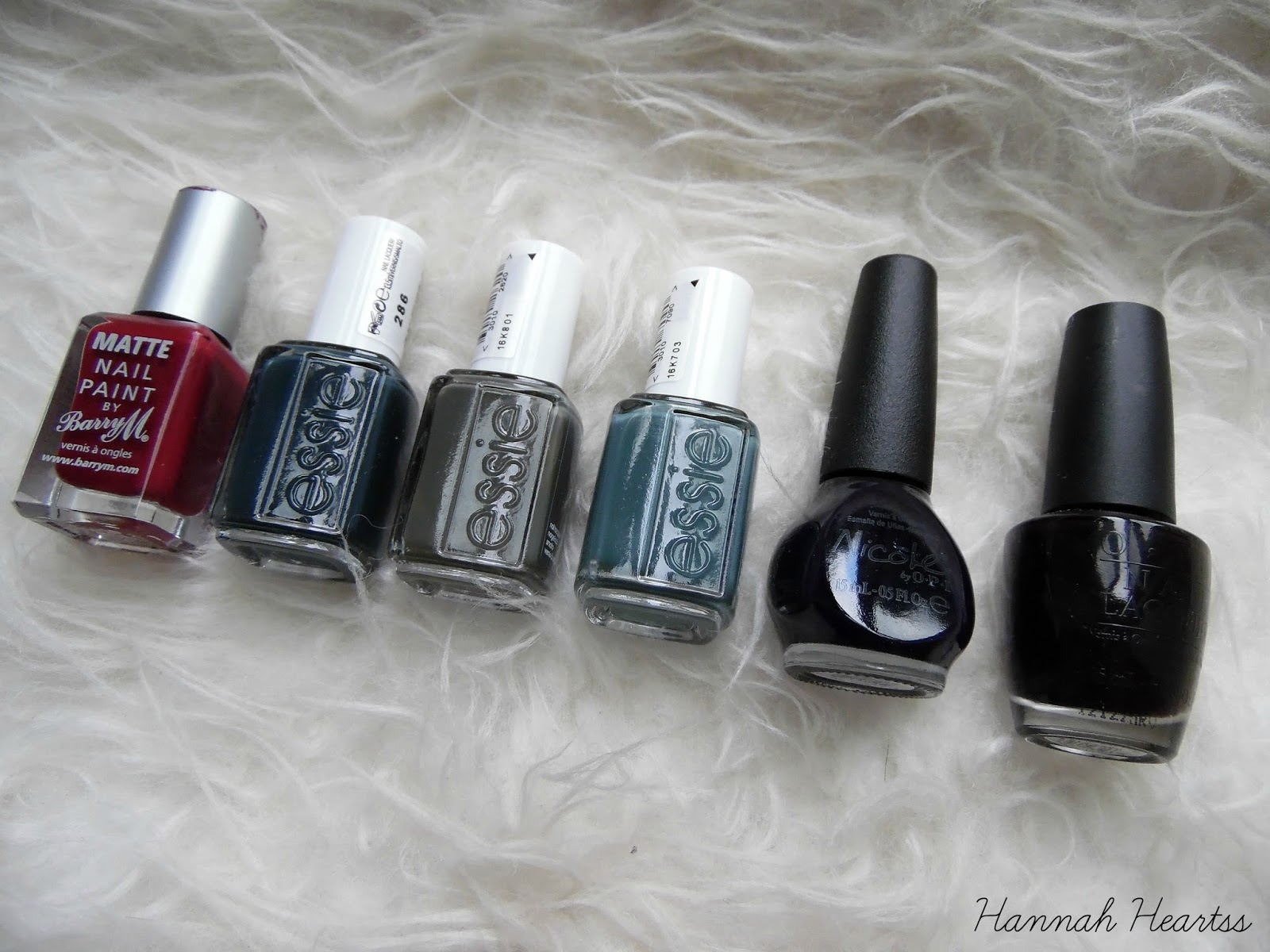 Autumn Nail Colours