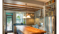 Make Some Adjustments Of Small Rustic Kitchens