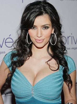 Kim Kardashian Sterling Hoop Earrings