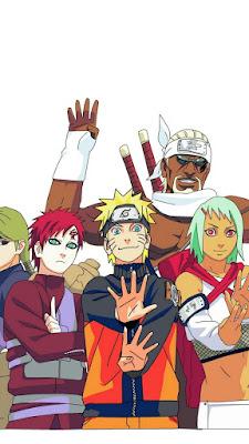 Gaara Naruto Jinchuriki Mobile Wallpaper
