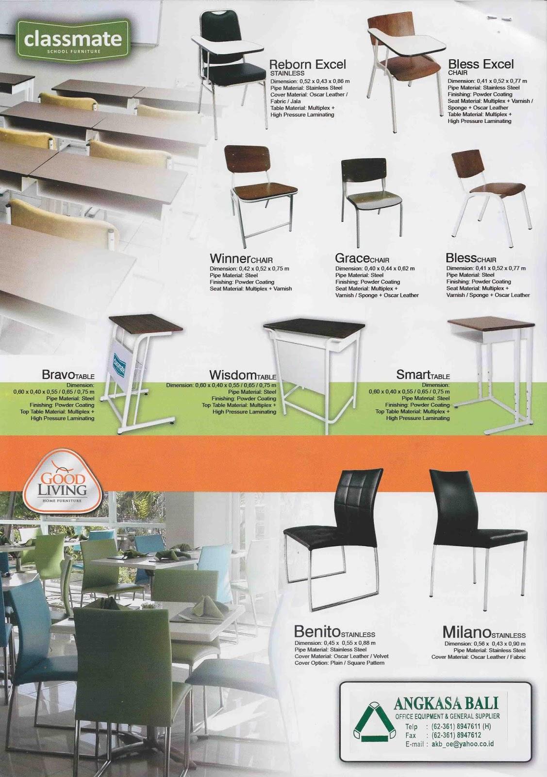 Angkasa Bali Furniture Distributor Kursi Meja Kantor Bali # Schema De Meuble Dimension