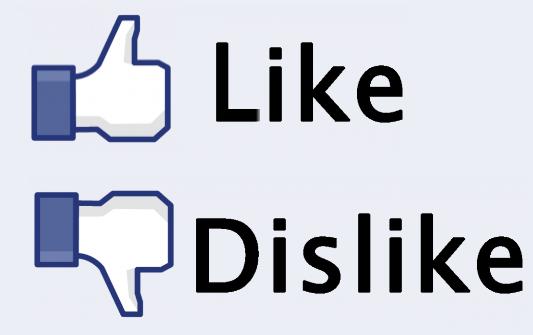 alasan kenapa tidak ada tombol dislike facebook