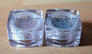 Tanya Burr cosmetics creme brulee starry night eye shimmer pots