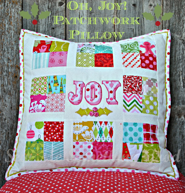 Oh, Joy! Patchwork Pillow