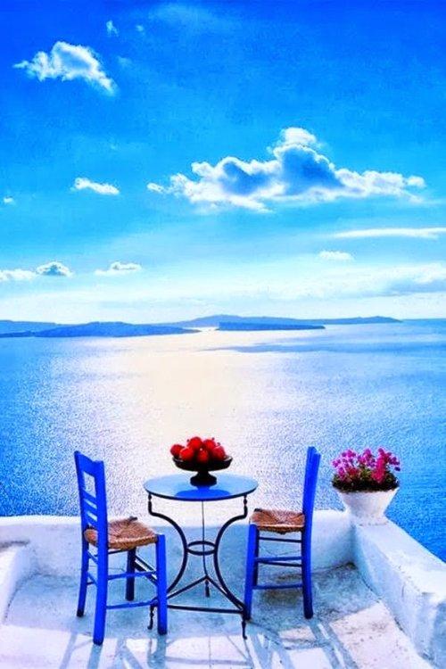 romantica terraza