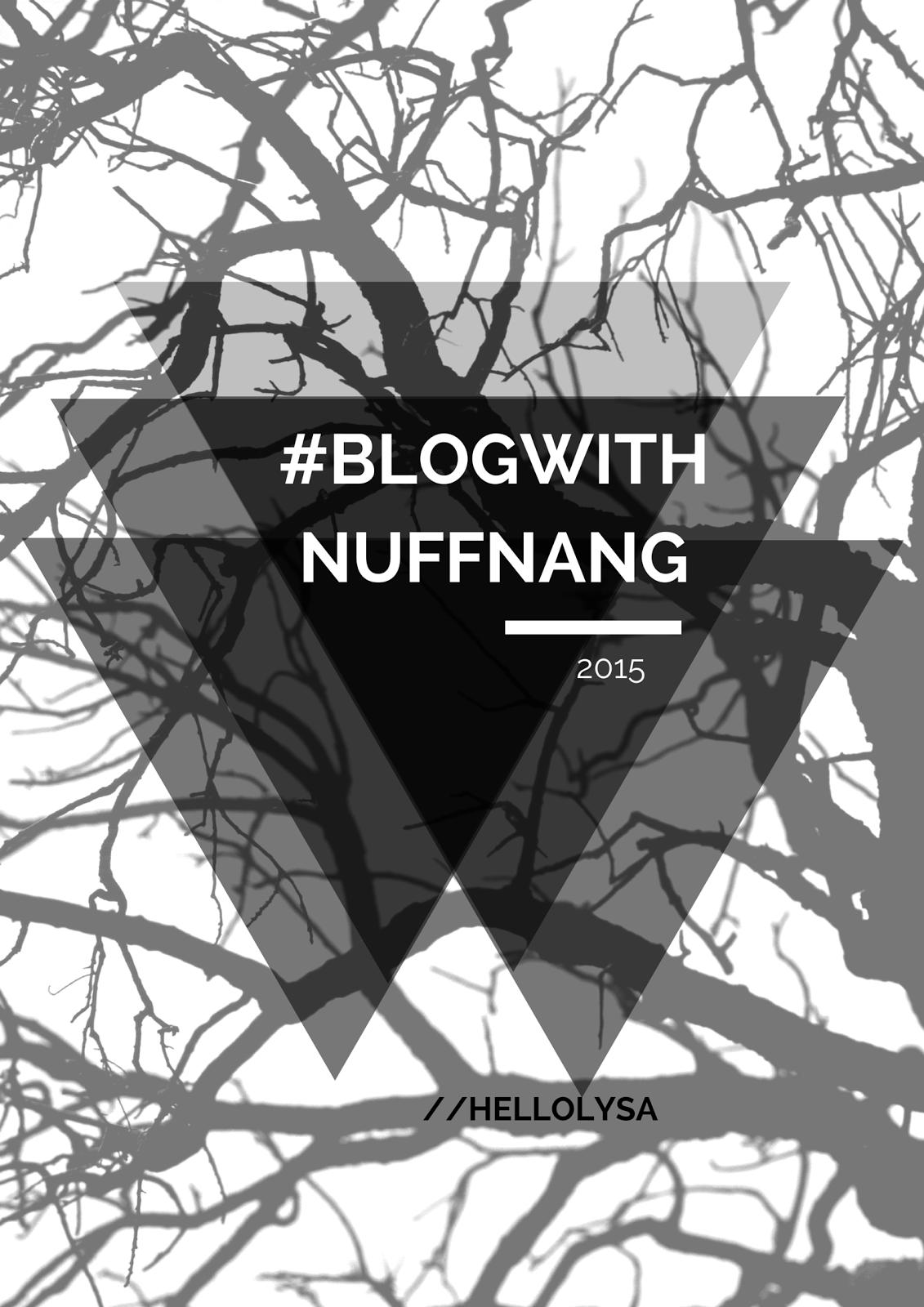 #BlogWithNuffnang
