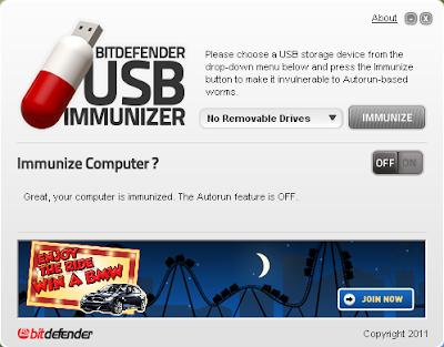BitDefender USB Immunizer 1.5.0.1