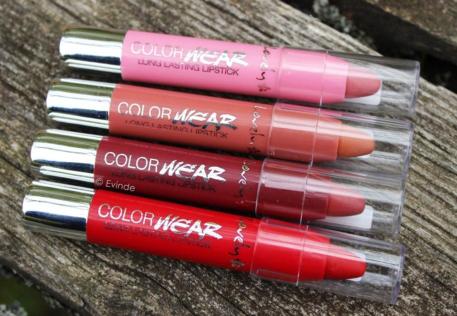 lovely color wear longlasting lipstick